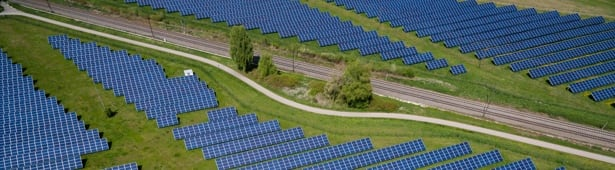 image of a fotovoltaic park